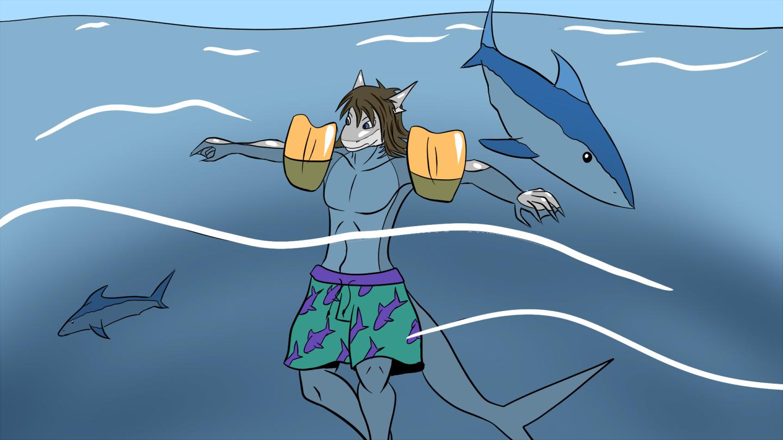 Shark Stream Sea Wizards Nerts