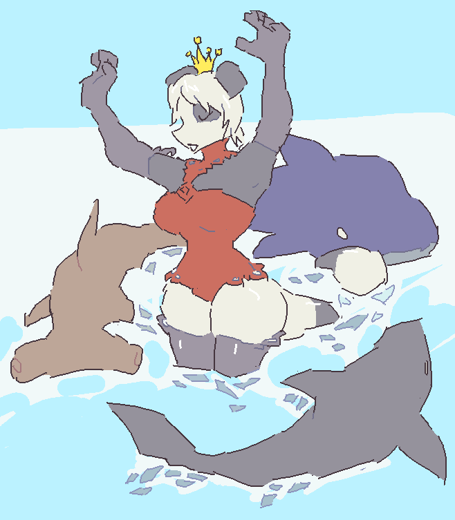 Octary as Queen of Sharks